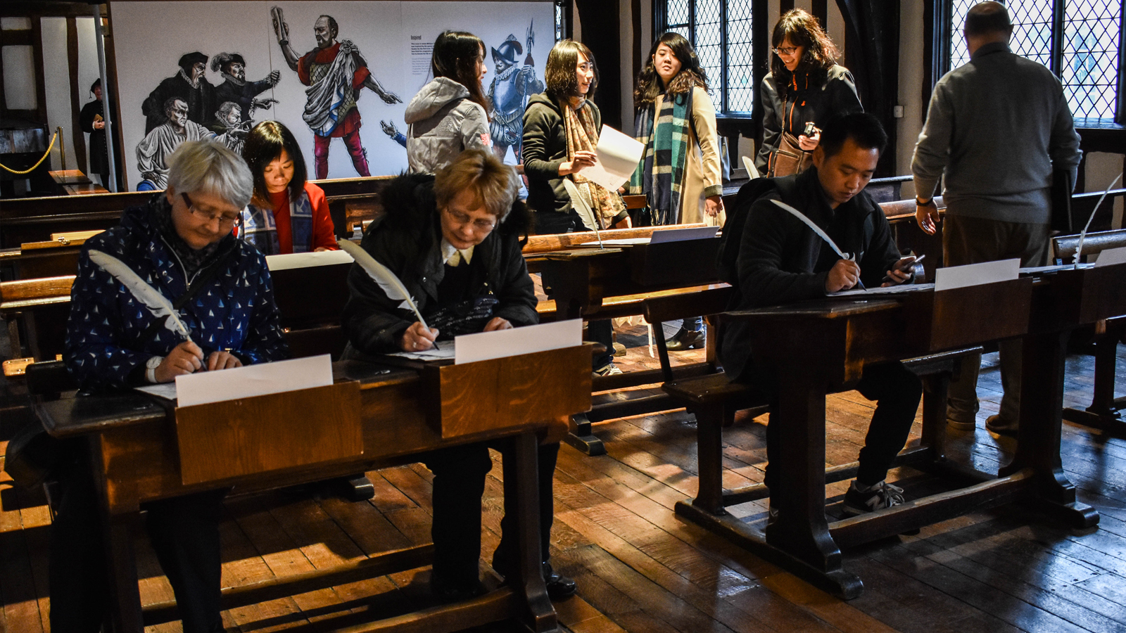 Image Makers Shakespeare's Schoolroom & Guildhall