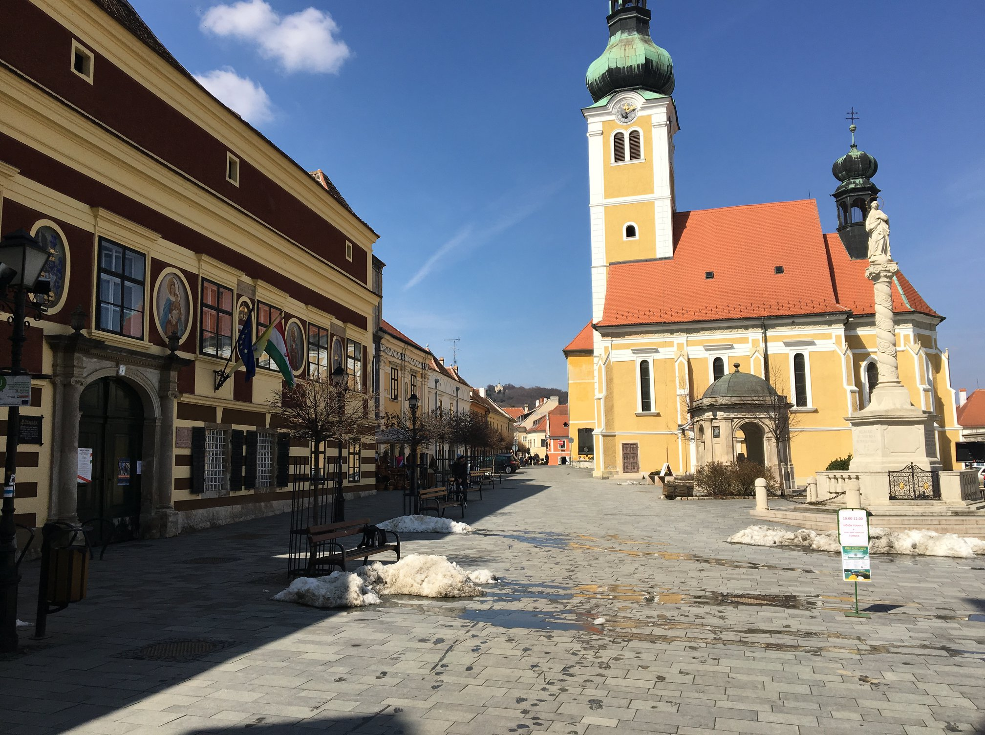 Koszeg is an attractive historic town near the Austrian border