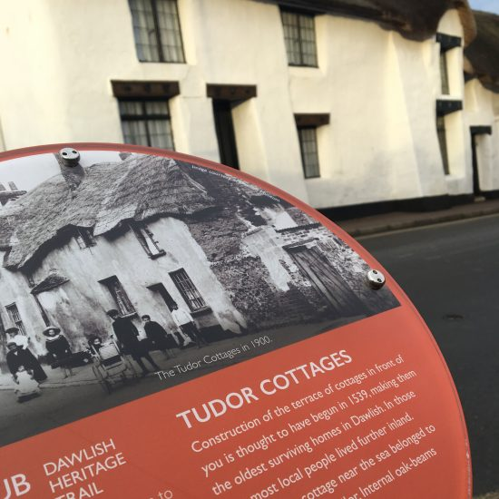 Tudor Cottages Plaque image