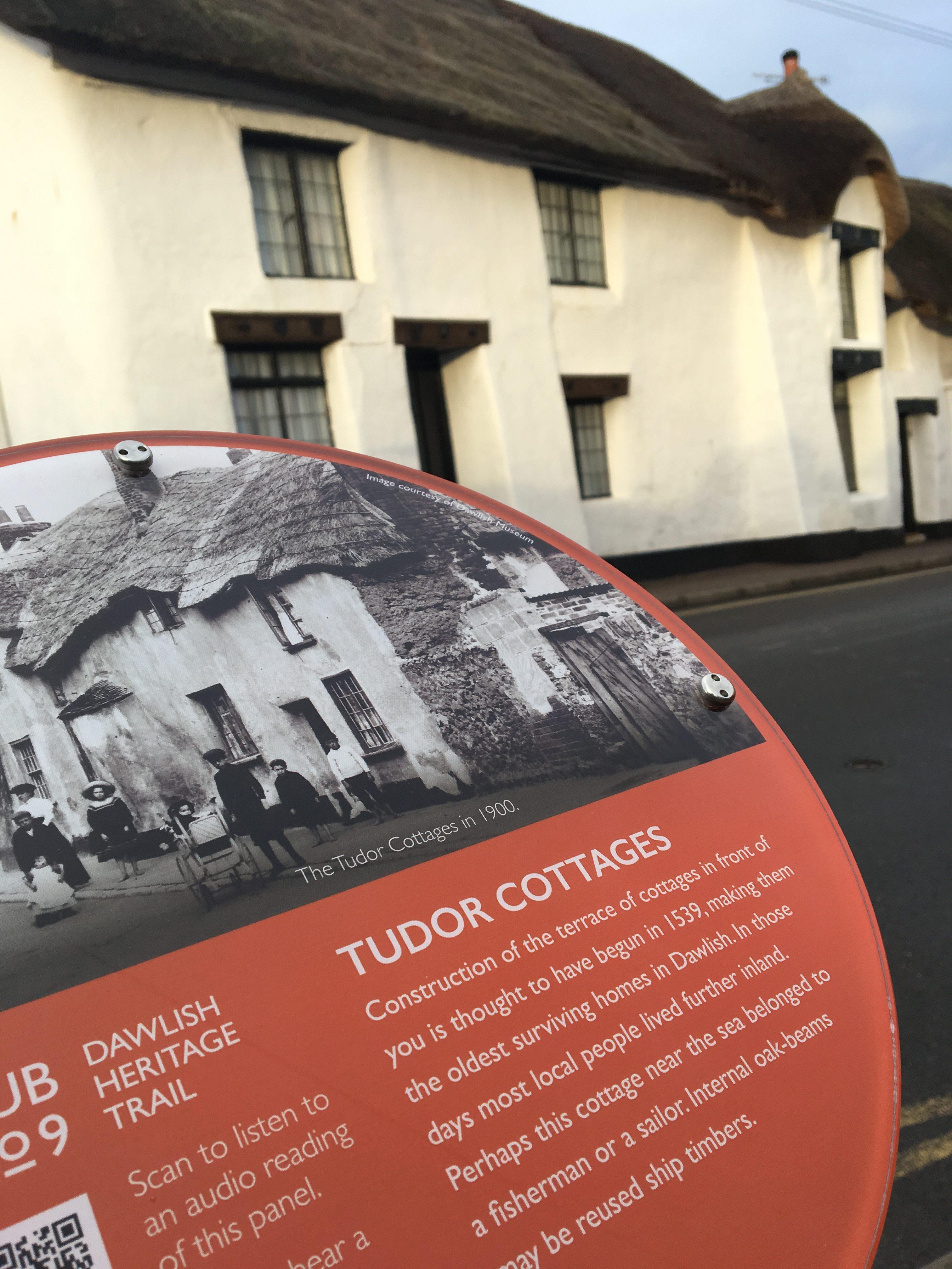 Tudor Cottages Plaque image